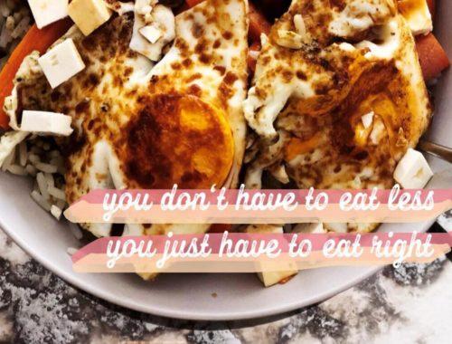 Der Körper verzeiht Diäten nur ungern: Essens Inspiration von Denise Janda