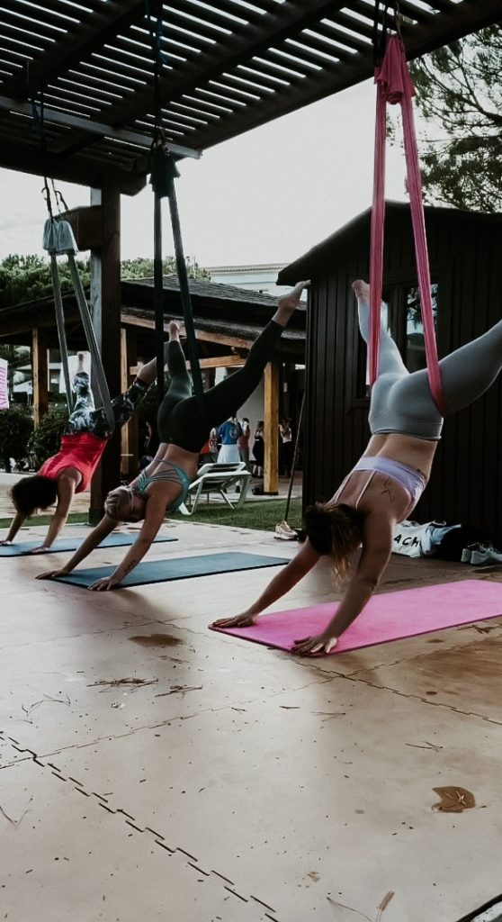 Flying Pilates